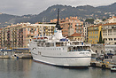 The cruise ship 'Adriana' berthed in Nice. Built by Ateliers et Chanti...
