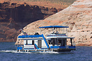 A typical Lake Powell Houseboat.