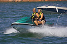 Most visitors to Lake Powell take to the water in some form or other.