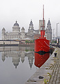 A restored lightship at Liverpool's excellent Maritime Museum is displ...