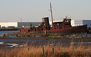 Retired tugboat Bloxom. Built as LT-653 at Point Pleasant, West Virgin...