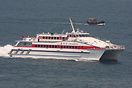 The 'Lian Gang Hu' is one of the CKS fast ferry fleet providing servic...