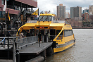New York Water Taxi's pride of the fleet, the 149 passenger capacity, ...