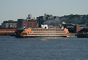 Staten Island Ferry, Samuel I Newhouse, built in 1982, is one of two B...