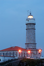 Lighthouse on the coast at Santander, Spain