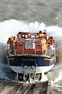 The Tyne class Selsey Lifeboat 'City of London' launching