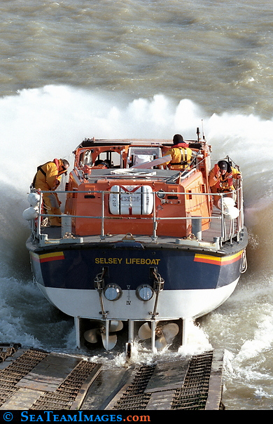 Selsey Lifeboat Launch