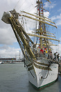The Sorlandet is the oldest operative full-rigged ship in the world an...