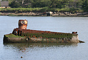 "The ""Yellow Submarine"" of Coney Island Creek. In 1970 this v..."