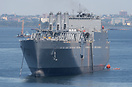 US Navy's Military Sealift Command's USNS DAHL, T-AKR 312, Watson clas...