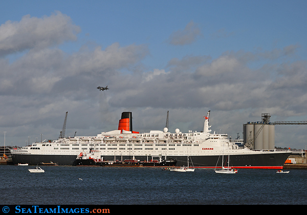 Harrier and QE2