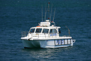 A LeisureCat police diver support boat, Sydney