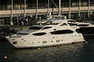 Accommodating 10 guests and 5 crew this 34 metre Sunseeker yacht can c...