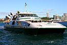 The Supercat 4 of Sydney Ferries. The company operates approximately 1...