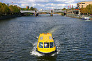 A Williamstown Ferry boat on Melbourne's Yarra River
