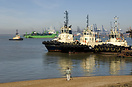 Four Svitzer tugs at the Port of Felixstowe including Svitzer Melton (...
