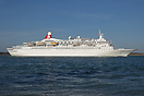 Measuring 205 metres in length, the Fred Olsen cruise ship 'Black Watc...