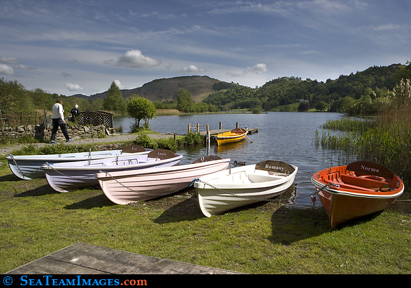 Row Boats, Grasmere