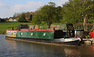 India No.1 moored on the Leeds Liverpool Canal at Bingley, Yorkshire