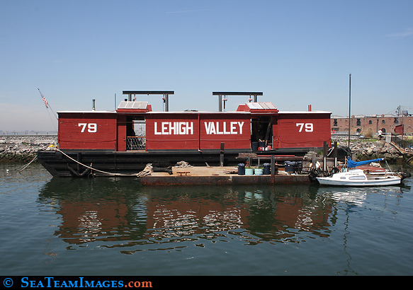 Lehigh Valley RailRoad Barge