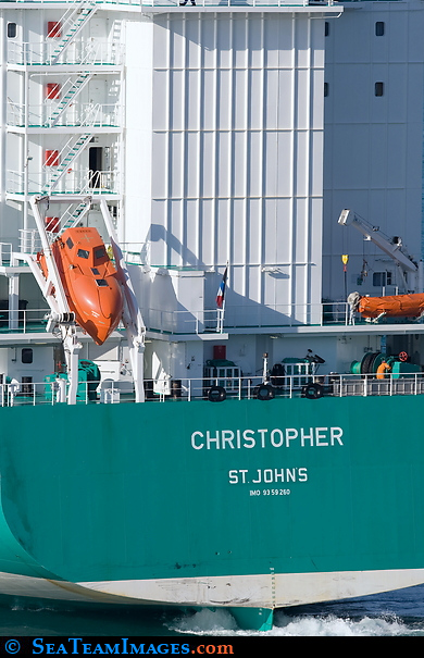 Container Ship 'Christopher'