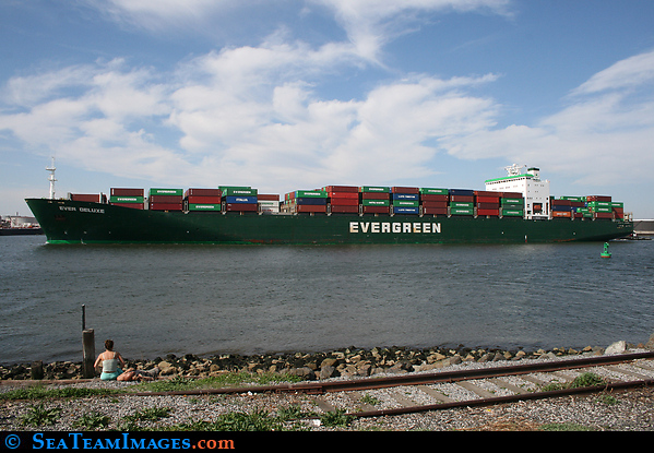 Container Ship 'Ever Deluxe'