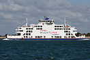 Wightlink's flagship vessel 'St Clare' was built at the Remontowa Ship...