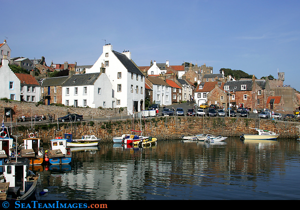 Fishing Boats in Crail Harbour