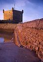 Old bastion in Essaouira's harbour