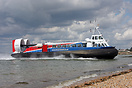 Hovertravel's AP1-88 'Freedom 90' bringing visitors from the Isle of W...