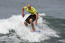 Jurg Diemand from Switzerland competing in the 2009 ISA World Surfing ...