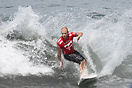 Mick Campbell from Australia competing in the 2009 ISA World Surfing G...