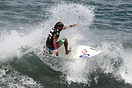 Cristian Mendez from Guatemala competing in the 2009 ISA World Surfing...