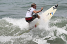 Mathias Moller from Germany competing in the 2009 ISA World Surfing Ga...