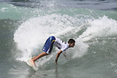Francesco D'Agapiti from Italy competing in the 2009 ISA World Surfing...