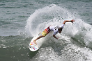 Carlos Cabrero from Puerto Rico competing in the 2009 ISA World Surfin...