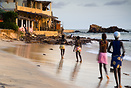 Girls on the beach, Toubab Dialaw, Senegal