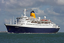 Operating a one night Saga Zone mini cruise from Liverpool to Southamp...
