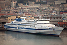 The MDV 3000 Jupiter class Ro-Ro fast ferry 'Taurus' was built at Finc...