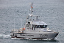 The patrol boat 'Asdrubal' of the Douane Tunisienne (Tunisian Customs)...