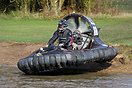 A Suzuki GSXR-750 engine powered this racing hovercraft during the 5th...