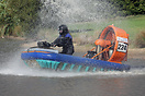 Katherine Gifford gets a slight soaking in her Formula 3 racing hoverc...