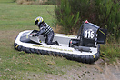 Sue Folland in her Rotax powered Formula 503 hovercraft.  All F503 cra...