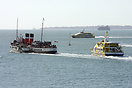 "Paddle Steamer ""Waverley"" departing Portsmouth on a cruise t..."