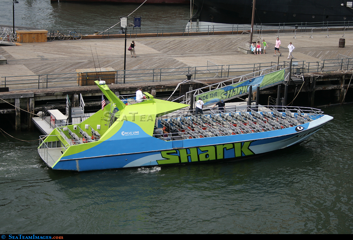 Shark Speedboat Thrill Ride