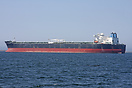 The BP tanker Alaskan Explorer moored off Port Angeles, Washington.