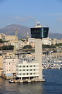 The Port of Genoa traffic control tower