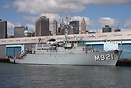Lobelia (M921) a Tripartite-class minehunter od the Belgian Navy in Br...