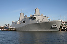 USS New York (LPD-21), San Antonio-class amphibious transport dock, se...