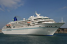 Amadea built in 1991 by the Mitsubishi Heavy Industries shipyard in Na...